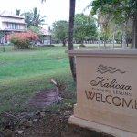 jalan menuju villa