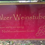 Pfälzer Weinstube Foto