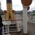 On the deck of Nomadic