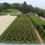 les jardins vu du chateau