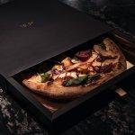 1889 Fast Fine Pizza - Pizza box