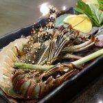 Teppanyaki - Lobster and Fish menu