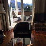 Suite mit Balkon-Therasse und Aussicht
