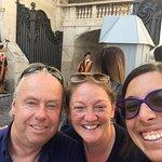 The Vatican with Francesca