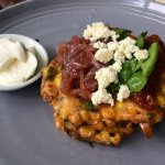 Corn fritters - wow
