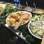 Salad bar options
