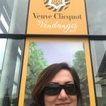 Visiting my favourite champagne cellar ever! More impressive than the others. Loved it.
