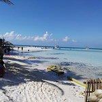 La mejor playa de la isla, bien al norte de playa norte