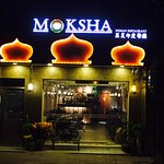 Moksha indian beautiful ambience with authentic Indian food