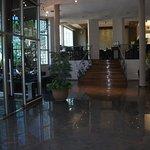Es la entrada al hotel , me encanto , se percibe mucha calidez