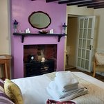 Lovely room at tThe Winchester Arms.