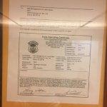 Expired elevator permit.