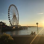 The wheel at sunset!