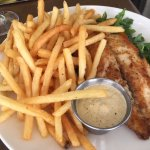 Redfish and Fries