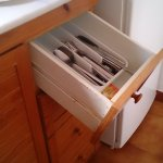 Kitchen drawer that opened!