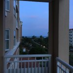 Ocean view from one of our balconies