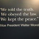 Favorite quote displayed