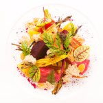 Roasted Beet and Heirloom Carrot Salad
