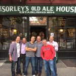 The boys at McSorleys