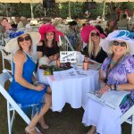 Kentucky Derby Day on the lawn. Great food and service!