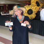 Oklahoma Derby Day hat contest, 3rd place & $100 in the Oklahoma Spirit Category!
