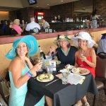 Celebrating my sister's birthday & Oklahoma Derby Day in the Eclipse Restaurant.