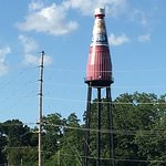 World's Largest Catsup Bottle 사진