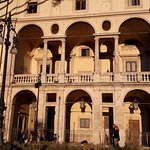 Public park with historical palace, Rieti