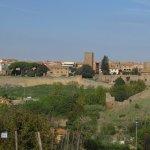 View of Tuscania from San Pietro