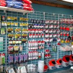 Tackle, Live Bait, Frozen Bait, and Snack, Ice, Drinks
