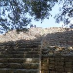 Steps to the top of the pyramid
