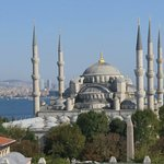 View of Blue Mosque from room 702 , Arcadia Blue Hotel