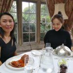 How to really impress travellers from China - Lunch at Tylney Hall !