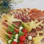 Selection of Sardinian delicatessens