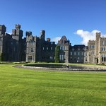 Ashford Castle 'backyard'