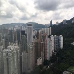 City view of Wanchai
