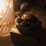What was in the box...A gorgeous small trinket box which was such a wonderful surprise to receiv