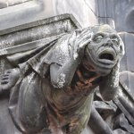 Chester cathedral gargoyles
