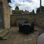 Private patio & Hot Tub