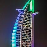Burj Al Arab a 7 star hotel in Dubai