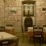 The trullo part of the restaurant