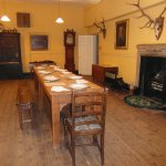 The Servants dining room