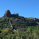 le château de Rochemaur au dessus de Montelimar