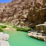 Wadi shab swimming hole