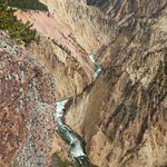 Yellowstone Canyon and river