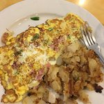 western omelet and home fries was such a great and filling meal