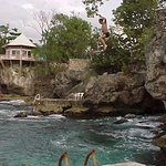 Cliff Jumping... But it is DANGROUS and not safe