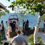 Cliff Side Wedding