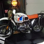 Original mid-80s R80GS BMW Dakar. The bike that started the Adventure Touring fad.
