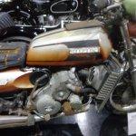 Rare Suzuki with Wankel rotary engine ready for restoration
